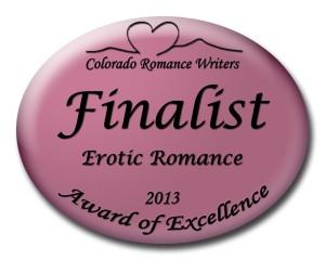 CRW Erotic Romance Finalist