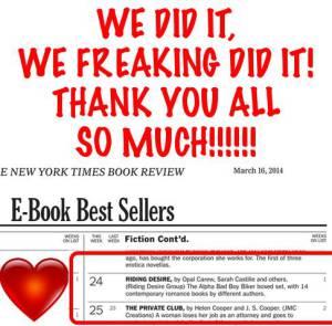3 14 NYT List Thank you
